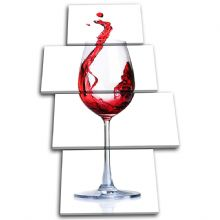 Red wine Glass Food Kitchen - 13-0151(00B)-MP04-PO